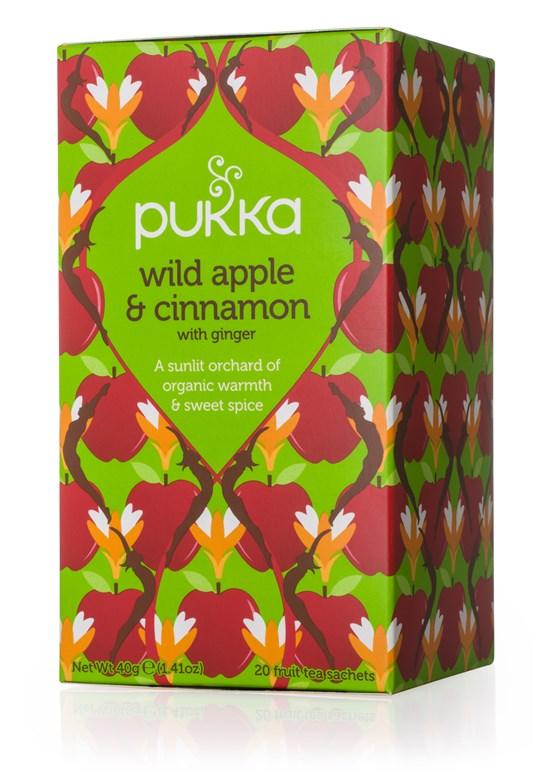 Pukka Wild Apple & Cinnamon