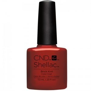 Shellac Brick Knit