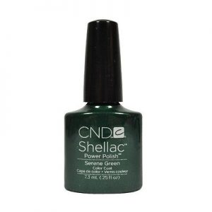 Shellac Serene Green